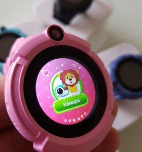 Умные часы Q130 для девочек с камерой и фонариком