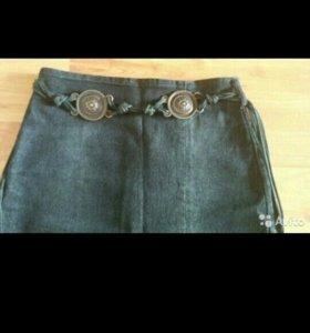 Юбка джинсовая р.42-44