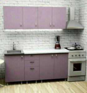 Кухня новая на заказ «Лайт»  12750р. ЗА ВСЮ КУХНЮ