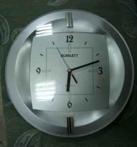 Часы настенные scarlett quartz 55ft б/у