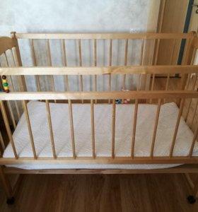Детская кроватка бу