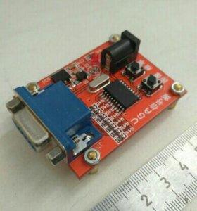 Генератор сигналов для ПК мониторов с VGA
