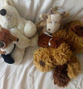 Мягкие игрушки для собаки
