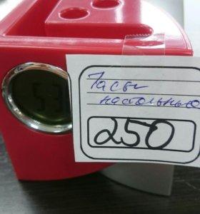 Часы будильник с выходами для USB
