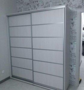 Шкаф-купе корпусный, гардеробная, купе встроенный