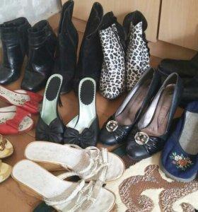 12 пар обуви б/у за рафаэллу