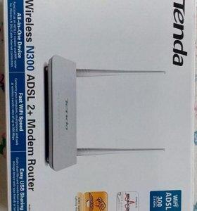 Tenda D301 Modem ADSL 2+ Router Wi-Fi