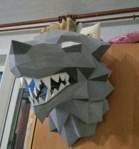 Голова лютоволка