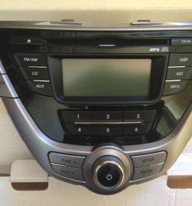 Штатная магнитола Hyundai Elantra V (MD)