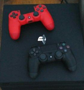 PlayStation 4 Pro + 2 gamepad