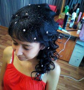 Причёски стрижки покраски