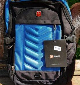 Новый рюкзак swissgear 8826 синий