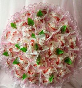Букет из конфет Раффаэло