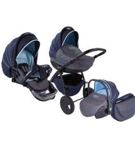 Детская коляска Tutis Zippy Silver Plus (3 в 1)