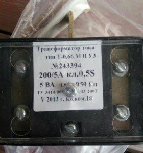 Трансформатор Т-0,66 М ll УЗ 200/5А