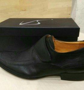 Туфли новые, кожаные, размер 40,