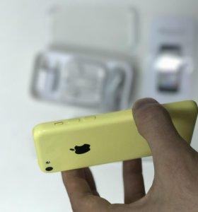 iPhone 5C 16GB новый Yellow