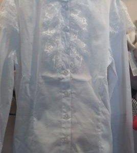 Блузки Белые На Девочек