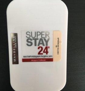 Пудра водостойкая Maybelline Super Stay