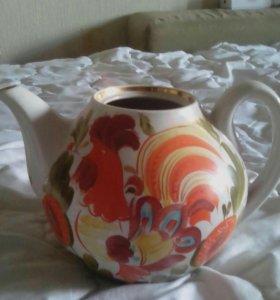 Чайник с узорами