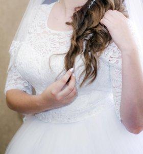 Счастливое свадебное платье!!