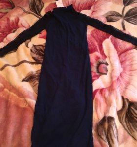 Новое женское платье темно синее