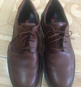 Мужские кожаные ботинки, новые 44 размер