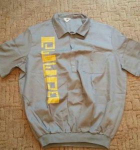 Рубашка(спецовка) новая
