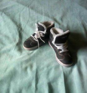 Ботиночки чёрные