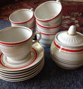 Продаю Чайные сервизы Советских времён всё новое