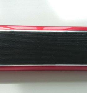 Портативная колонка SUPRA PAS-6255 red