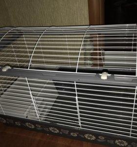 Клетка для кролика,шиншиллы или морской свинки