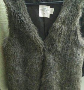 Меховая жилетка р46-48