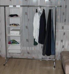 Вешалка стойка напольная для одежды