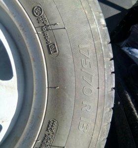 Колеса мишлен с штампованными дисками r13 175\70 л