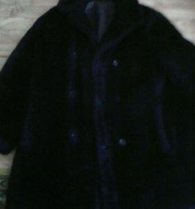 Полушубок и куртка кожзаменитель