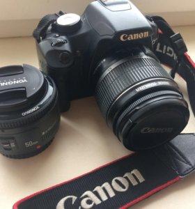 Canon 500D Kit 18-55 + Yongnuo 50mm 1:1.8