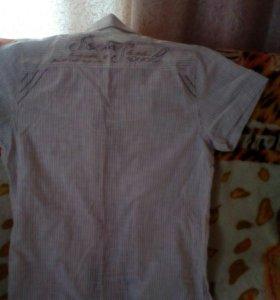 Рубашка мужская,размер m,новая