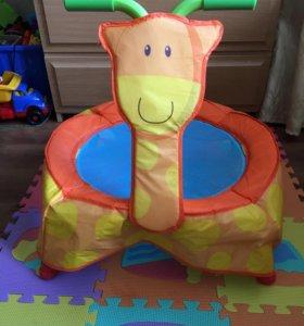 Детский батут- жирафик