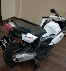 Детский электрический мотоцикл BMW