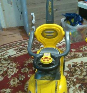 Детская машинка-каталка