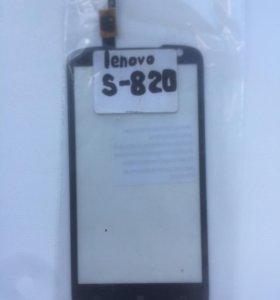 Тачскрин на Lenovo s820 (черный)