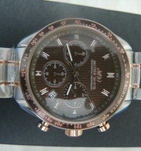 Часы новые профессиональный хронограф.