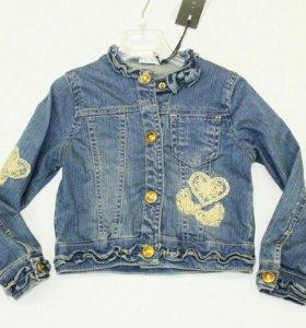 Джинсовая куртка melby Италия на 12 лет