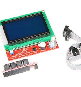 Дисплей для 3D принтера с картридером LCD12864