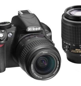 Nikon D3100 + объектив 55-200mm1:4-5.6G ED VR