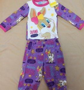 Пижама детская новая.