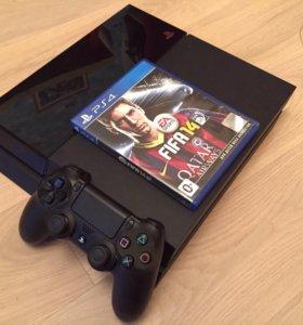 Sony PS4 500GB + игра