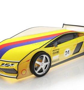 Кровать-машина «Ламба Жёлтая»