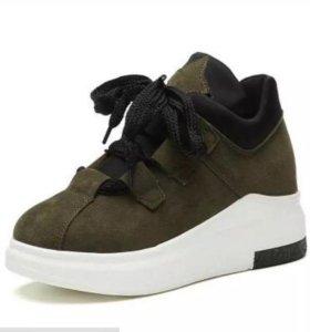 Кроссовки -ботиночки
